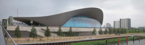 Photo of the London Aquatics Centre © Copyright Oast House Archive and licensed for reuse under this Creative Commons Licence